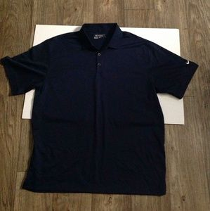 Nike Golf Tour Performance Navy Blue Polo Shirt